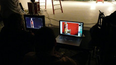 Johnnie Walker 3D rodaje filmacion red label
