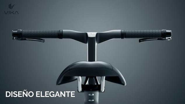 animacion lanzamiento de producto making off bicicleta plegable fibra de carbono
