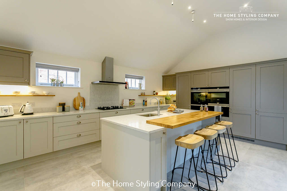 Show Home Kitchen, virtual styling