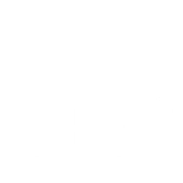 White & Transparent Crown and Initials