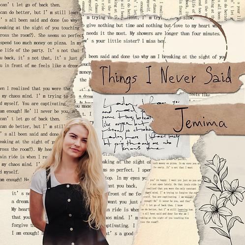 Things I Never Said EP (CD)