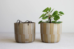 tapecheckeredplanters