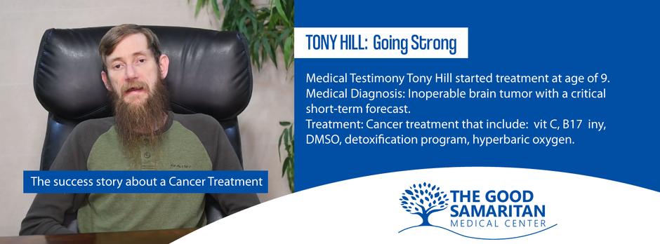 Testimony by: Tony Hill