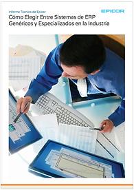 Como elegir entre sistemas ERP genericos