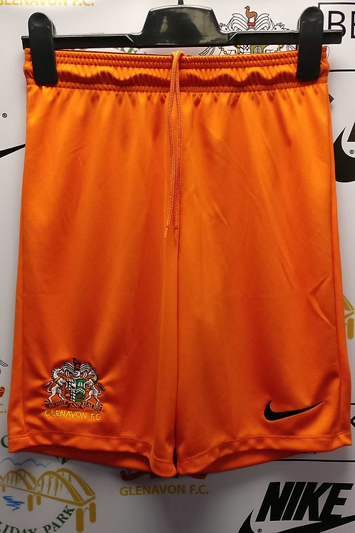 Kids Nike Away Match Shorts 20/21