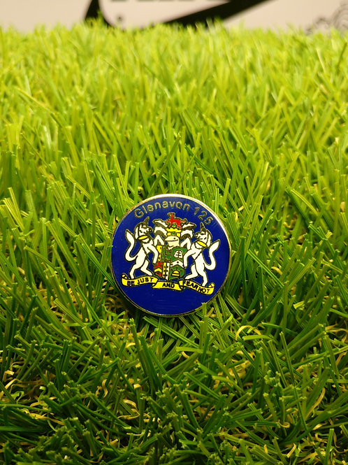 125th Anniversary Pin Badge