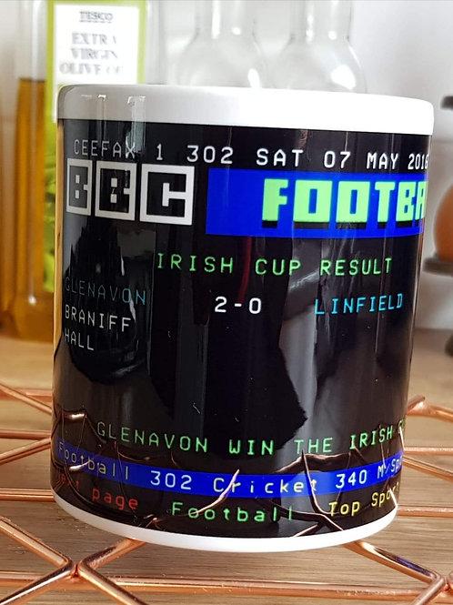 Retro 2016 Irish Cup Mug