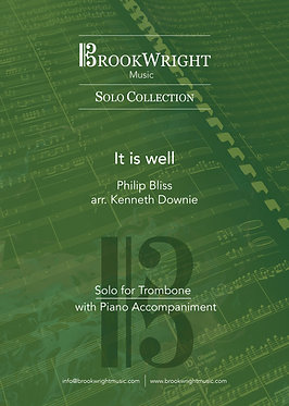 It is well - Trombone Solo with Piano (Philip Bliss arr. Kenneth Downie)