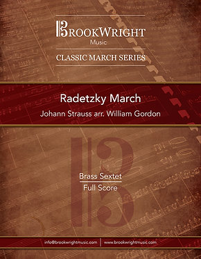 Radetzky March (Brass Sextet) Johann Strauss arr. William Gordon