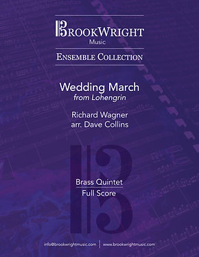 Wedding March from Lohengrin - Brass Quintet (Wagner arr. Dave Collins)