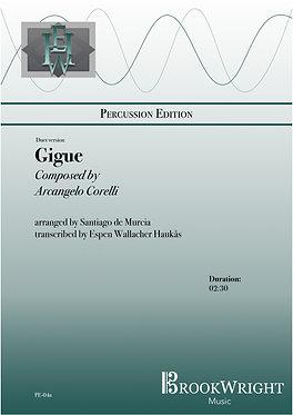 Gigue (Mallet Percussion Duet) Correlli arr. De Murcia trs.  Espen Haukås