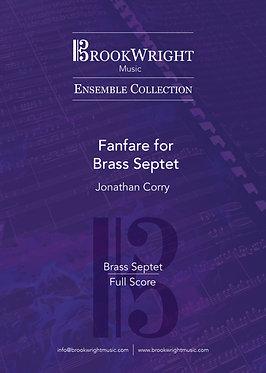Fanfare for Brass Septet (Jonathan Corry)