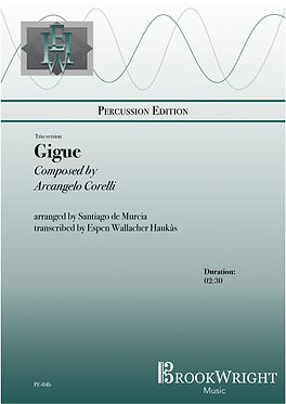 Gigue (Mallet Percussion Trio) Correlli arr. De Murcia trs.  Espen Haukås