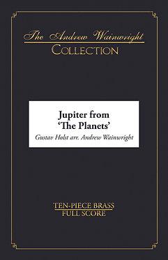 Jupiter from 'The Planets' - Ten-piece Brass