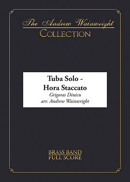 Hora Staccato - Eb Tuba Solo with Band (Dinicu arr. Andrew Wainwright)