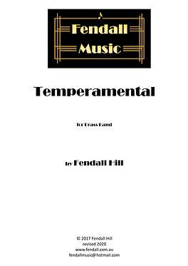 Temperamental (Brass Band) Fendall Hill