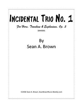 Incidental Trio No. 2 (Sean Brown)