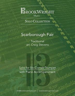 Scarborough Fair (Cornet/Trumpet Solo with Piano) Trad. arr. Craig Stevens