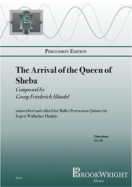 The Arrival of the Queen of Sheba (Mallet Percussion Quintet) trs. Espen Haukås