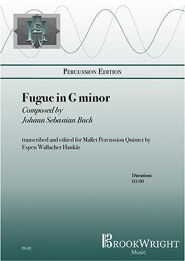 Fugue in G Minor (Mallet Percussion Quintet) J.S. Bach trs. Espen Haukås