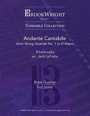 Andante Cantabile (Brass Quartet) Tchaikovsky arr. Jack Lythaby