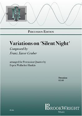 Variations on Silent Night (Percussion Quartet) Franz Gruber arr. Espen Haukås