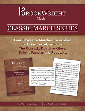 Classic March Series - Four Favourite Marches for Brass Sextet