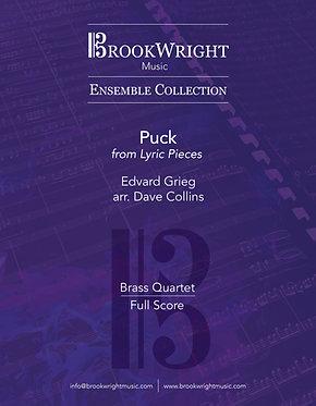 Puck from 'Lyric Pieces' (Brass Quartet) Edvard Grieg arr. Dave Collins