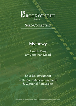 Myfanwy - Solo for Bb Instrument & Piano (Joseph Parry arr. Jonathan Mead)