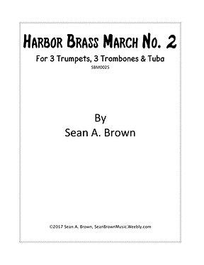 Harbor Brass March No. 2 - Brass Septet (Sean Brown)