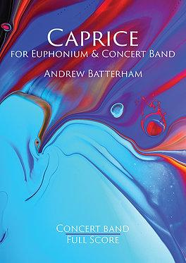 Caprice (Euphonium Solo with Concert Band) Andrew Batterham