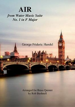 Air from 'Water Music' (Brass Quintet) Handel arr. Rob Bushnell