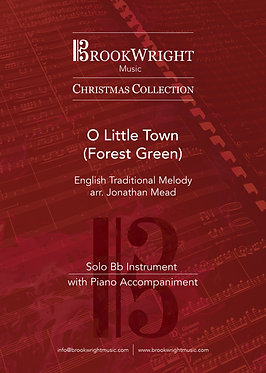 O Little Town (Forest Green) - Solo for Instrument in Bb (arr. Jonathan Mead)