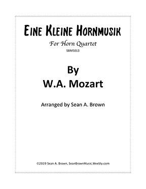 Eine Kleine Hornmusik - Horn Quartet (Mozart arr. Sean Brown)