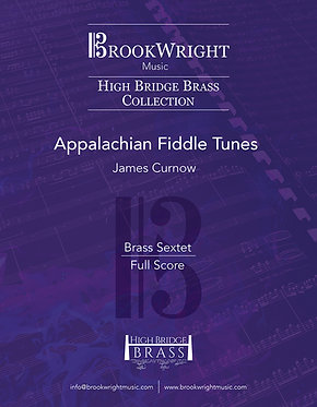 Appalachian Fiddle Tunes (Brass Sextet) James Curnow