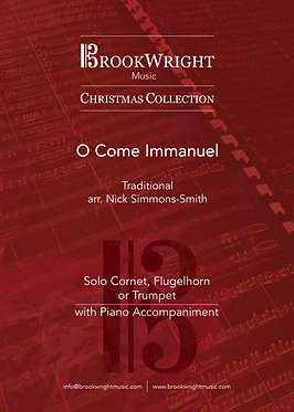 O Come Immanuel - Cornet, Flugelhorn or Trumpet Solo (Nick Simmons-Smith)
