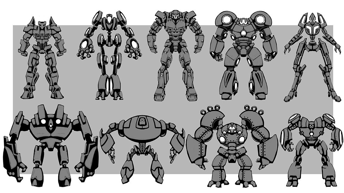 Robot Variations