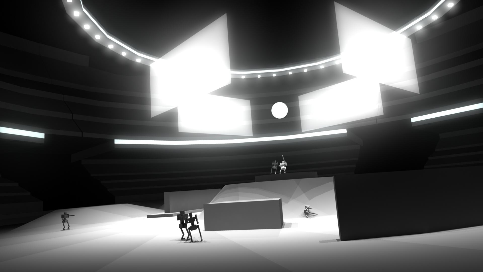 Rough Arena Model