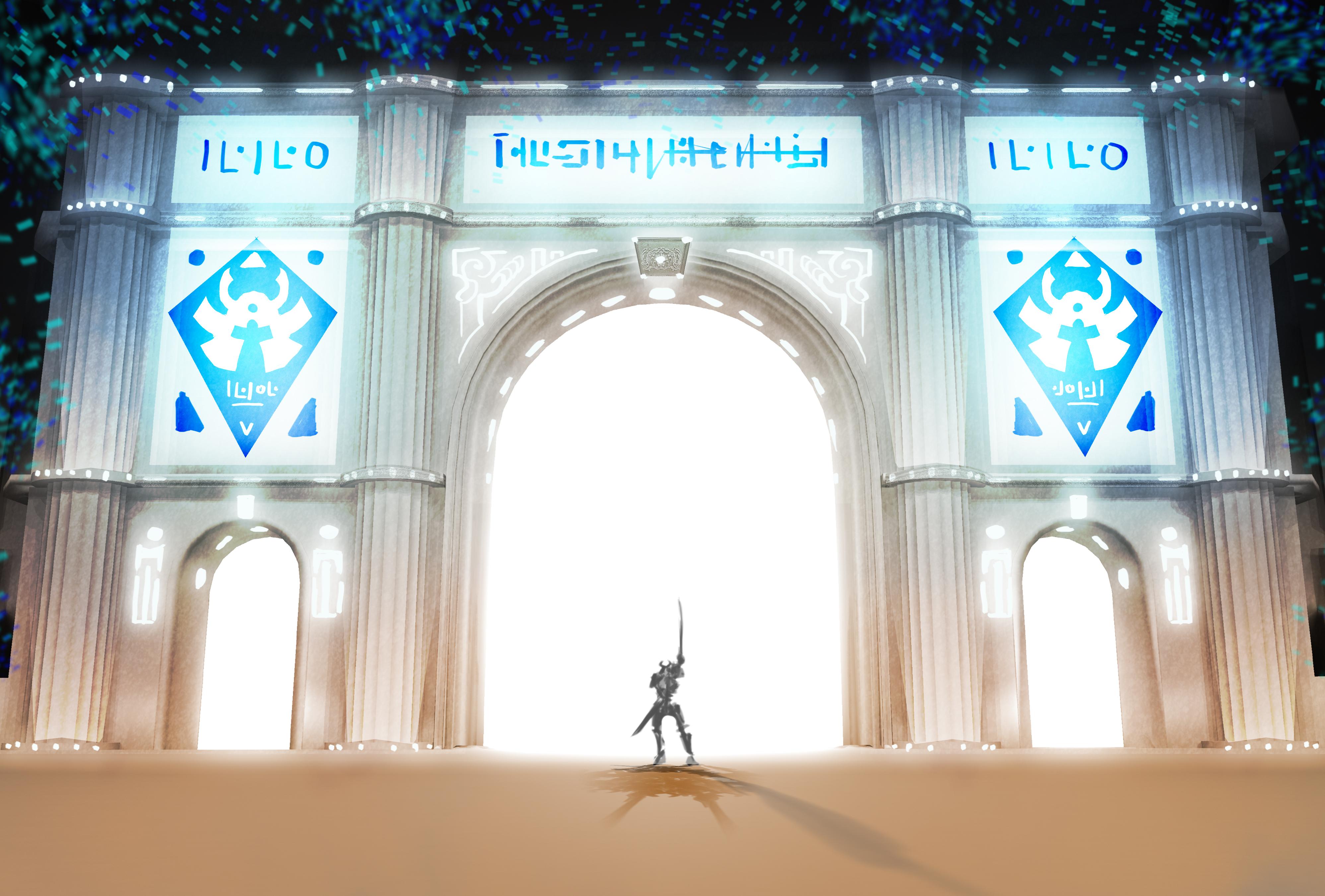 Triumphal Arch View