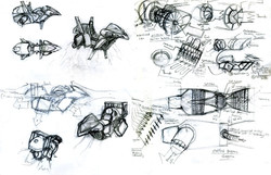 Jetbike Sketches