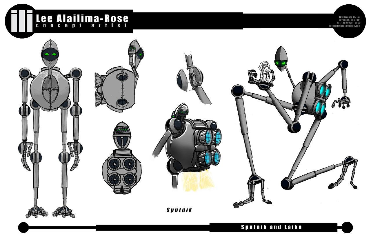 Sputnik Model Sheet