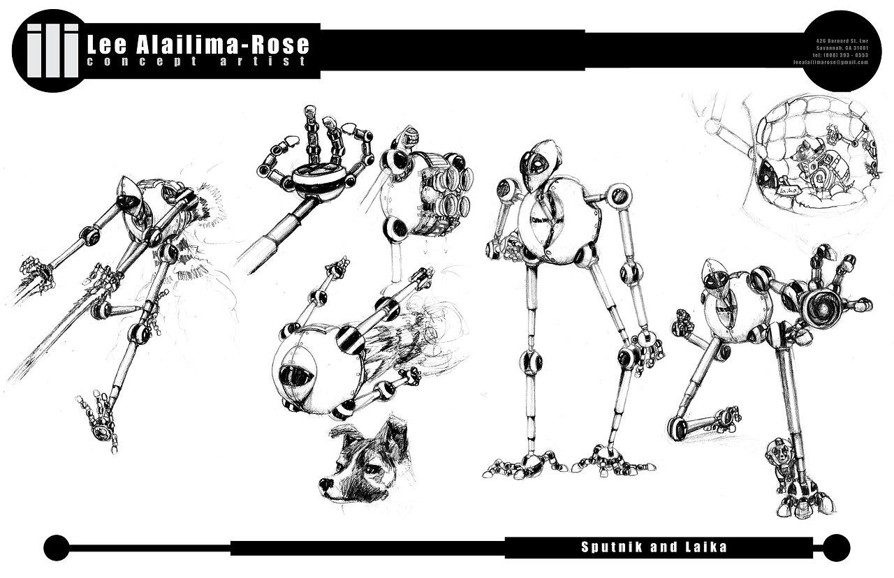 Sputnik Sketches