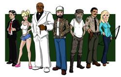 Redneck Brigade Characters