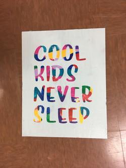 kids graphic phrase