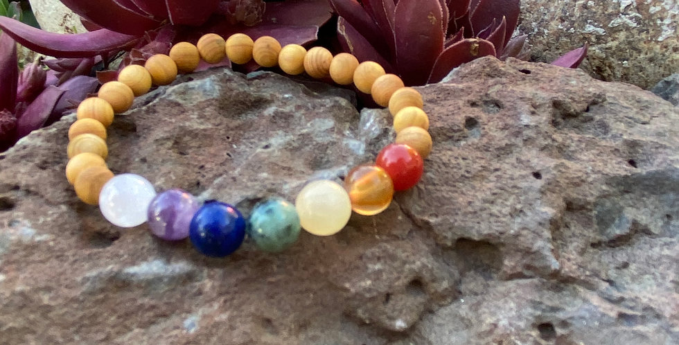 Chakra Love- Multi Stone Bracelet