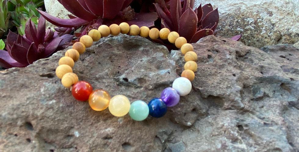 Cha Cha Chakra- Multi Stone Bracelet