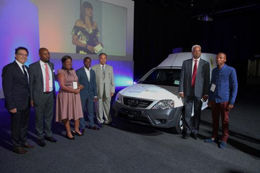 Vehicles handed over to micro distributors at #BuyLocalSummit