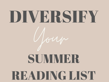 Diversify Your Summer Reading List