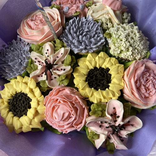 cupcake bouquet 12