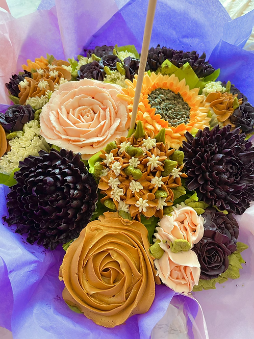 Cupcake bouquet of 30 cupcakes